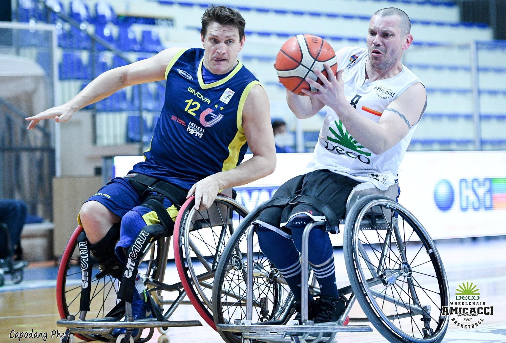 Il S. Lucia Roma rinuncia alla Serie A: il nostro appello per il futuro del basket in carrozzina